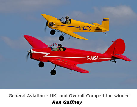 General Aviation : UK, and overall competition winner - RON GAFFNEY