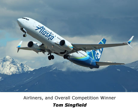 Airliners, and overall competition winner - TOM SINGFIELD
