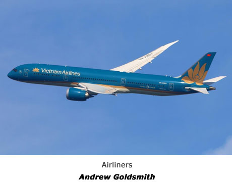 Airliners - ANDREW GOLDSMITH