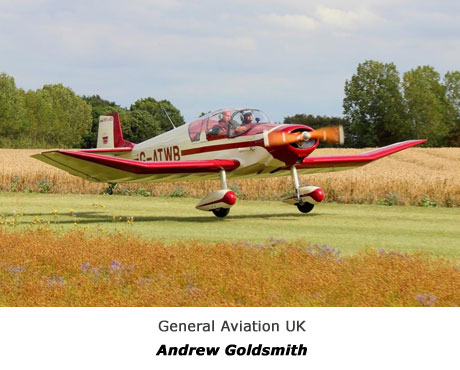 General Aviation  & Executive jets  registered in the British Isles - ANDREW GOLDSMITH