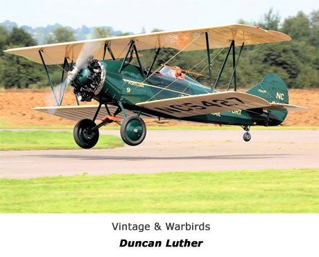 Vintage,  Warbirds and civilian operated former military jets - DUNCAN LUTHER