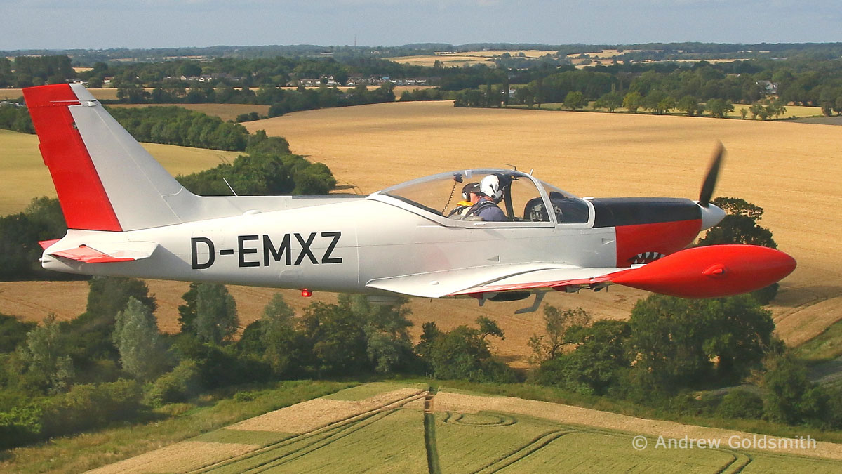 General Aviation & Executive Jets - Siai Machetti SF260 (D-EMXZ) by Andrew Goldsmith