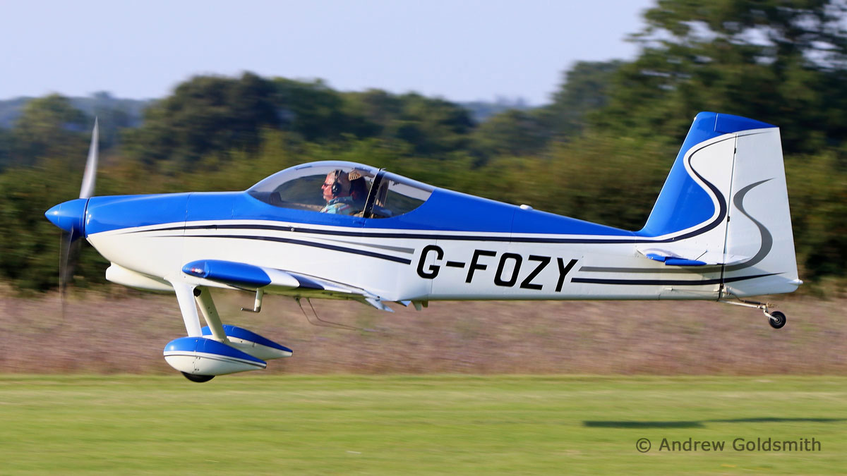 General Aviation & Executive Jets - Vans RV-7 (G-FOZY) by Andrew Goldsmith