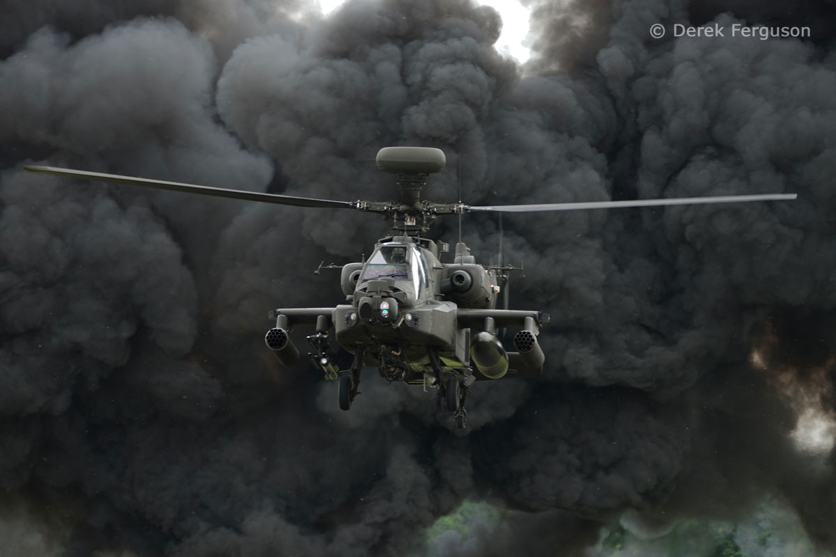 Modern Military - Apache AH.1 (ZJ228 Army Air Corps) by Derek Ferguson